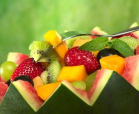 Mint Mojito Fruit Salad Recipe