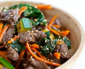 Sweet & Tangy Korean Steak Recipe