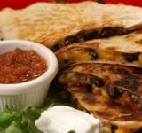 Corn & Black Bean Quesadilla Recipe